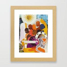 Connectivity Framed Art Print