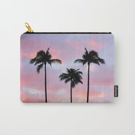 Palm Trees Sunset Photography Carry-All Pouch
