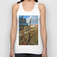 anchors Tank Tops featuring Abandoned anchors by Ricarda Balistreri