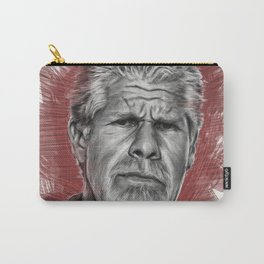Clay Morrow Portrait -SOA 01 Carry-All Pouch