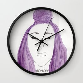 Sisters, Not Twins Wall Clock