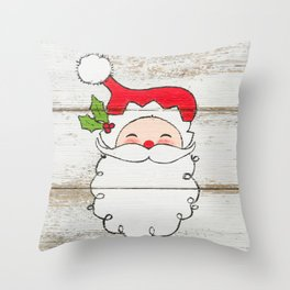 Mr. Claus Throw Pillow