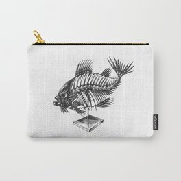 Fishbone Carry-All Pouch