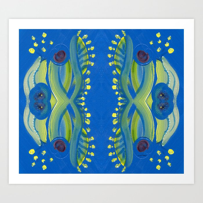 Transitions - Waves of Temporary Tranquility Art Print
