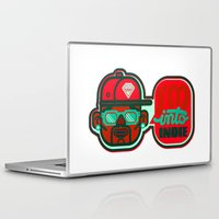 indie Laptop & iPad Skins featuring I'm Into Indie by chobopop