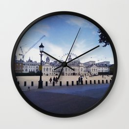Whitehall horse guards. Wall Clock