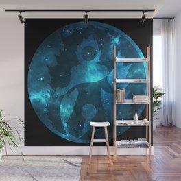 Yin Yang Super Saiyan God Symbol Wall Mural