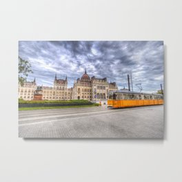 Parliament Of Budapest Metal Print