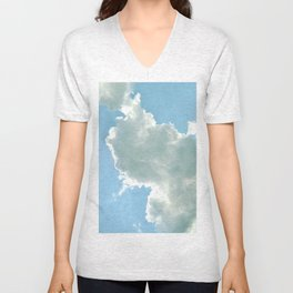 Cloudy with No Chance of Meatballs Unisex V-Neck