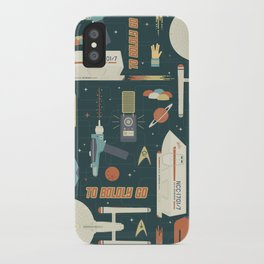 To Boldly Go... iPhone Case