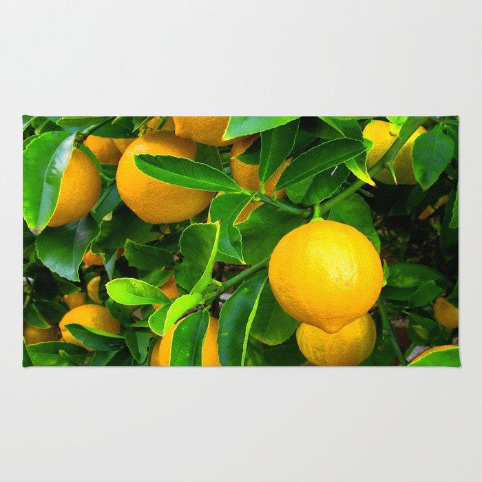 Lemon Rug