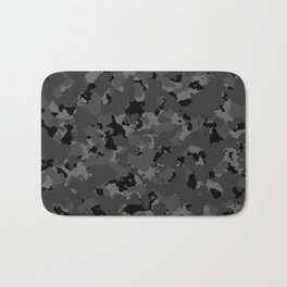 Black Camo Bath Mat