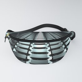 cubic floor Fanny Pack