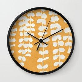 Minimal Abstract Leaves 13 Wall Clock
