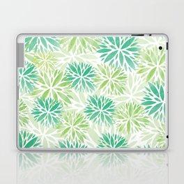 Pom Floral Green Laptop & iPad Skin