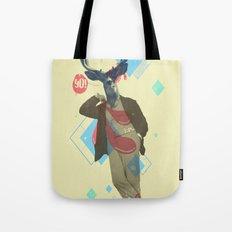 Yo! Deer Man Tote Bag