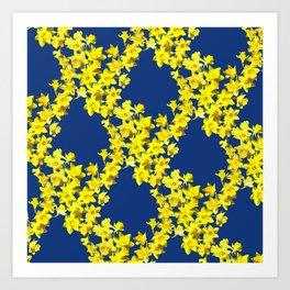 Daffodil Print Art Print