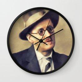 James Joyce, Literary Legend Wall Clock