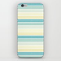 knit iPhone & iPod Skins featuring Knit 1 by K&C Design