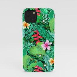 Cheerful Tree Frogs in Lush Australian Greenery  iPhone Case