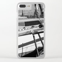 On the harbor, Le Touquet Clear iPhone Case