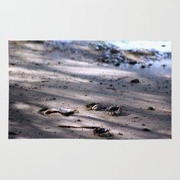 Tiny Crabs on the Beach Rug