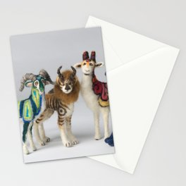 Fantastic Felted Beasts Stationery Cards