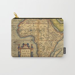 Old map of Africa Carry-All Pouch