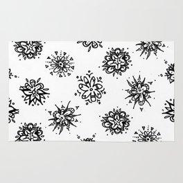 Flower Doodles Rug