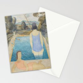 Pool Side Stationery Cards