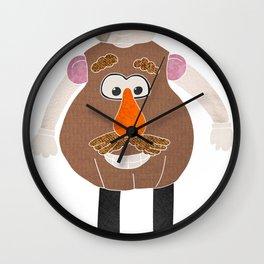 Mr Potato Head Wall Clock