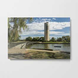 National Carillon Bell Tower, Canberra, Australia Metal Print
