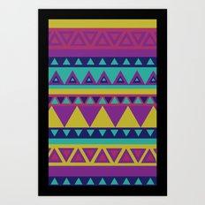 Aztec 1# Art Print