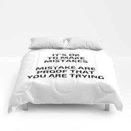 MISTAKES Comforters