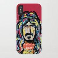 zappa iPhone & iPod Cases featuring Zappa by Tolga Hirsova