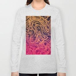 Warped Linear2 Warm Long Sleeve T-shirt