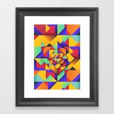 Shapes II Framed Art Print