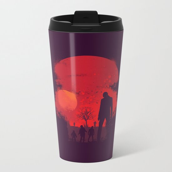 Dead End Metal Travel Mug