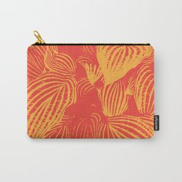 Varigated Leaves Carry-All Pouch