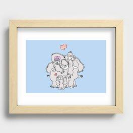 Family love Recessed Framed Print