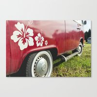 vw Canvas Prints featuring vw by shine