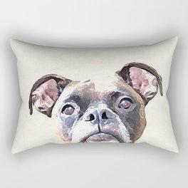 Brindle Boxer Dog Rectangular Pillow