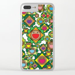 Burgers Everywhere Clear iPhone Case