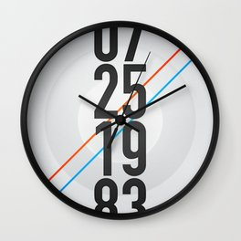 07/25/1983 Wall Clock