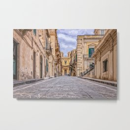 Let's Walk For A While Metal Print