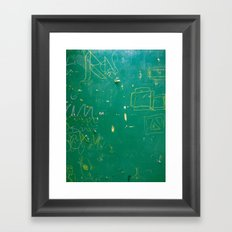 BlackBoardSchool Framed Art Print