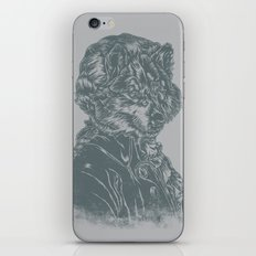 Wolf Amadeus Mozart iPhone & iPod Skin