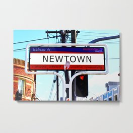 Newtown Metal Print