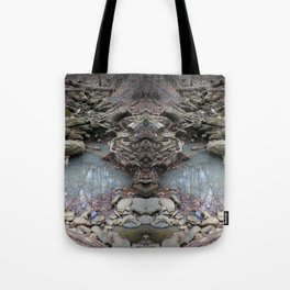 Mirrored Riverbed Tote Bag