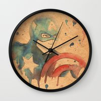 soldier Wall Clocks featuring Soldier by Sarah J